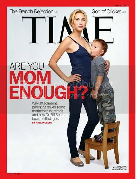 TIME MAG COVER TIME Magazine Cover: 3 Year Old Sucks Moms Tit To Get Readers; Bristol Palin v JWoww