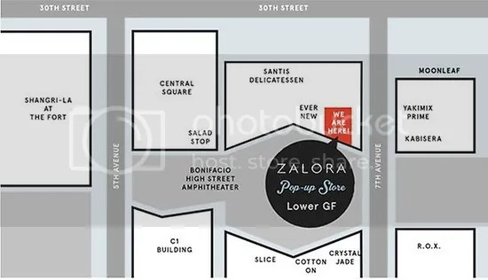 Zalora Pop-Up Store