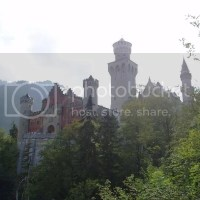 A typical day down at Neuschwanstein Palace (you can call it castle all you want) Part 1