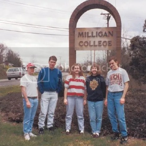 Milligan College sign