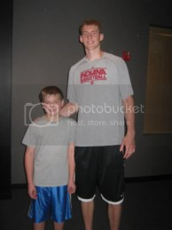 Aiden and Cody Zeller, The Big Handsome