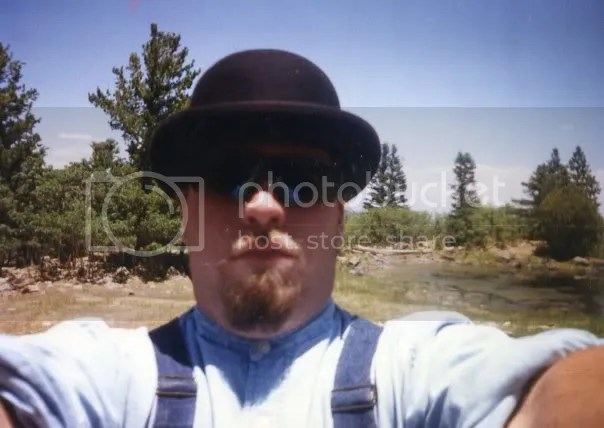 Self-Portrait. Crater Lake Camp at Philmont, New Mexico. 1996