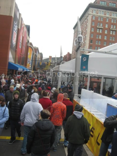 Super Bowl Village, Indianapolis, 2012
