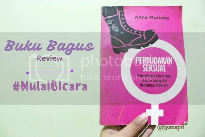 review buku perbudakan seksual anna mariana