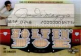 2012 Triple Threads Joe DiMaggio Autograph