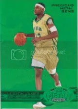 11-12 Fleer Retro LeBron James Green