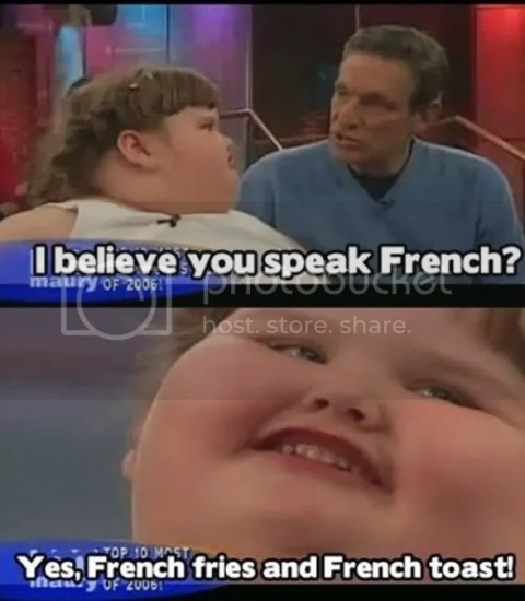i believe french fries and french toast