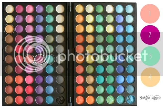 120 Eyeshadow Palette Beautiful Kayekie