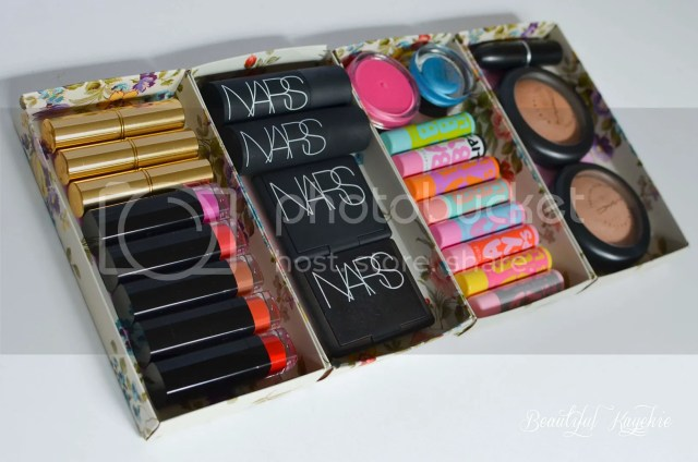 DIY Makeup storage
