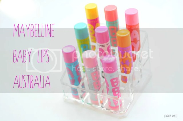 Maybelline Baby Lips Australian Range