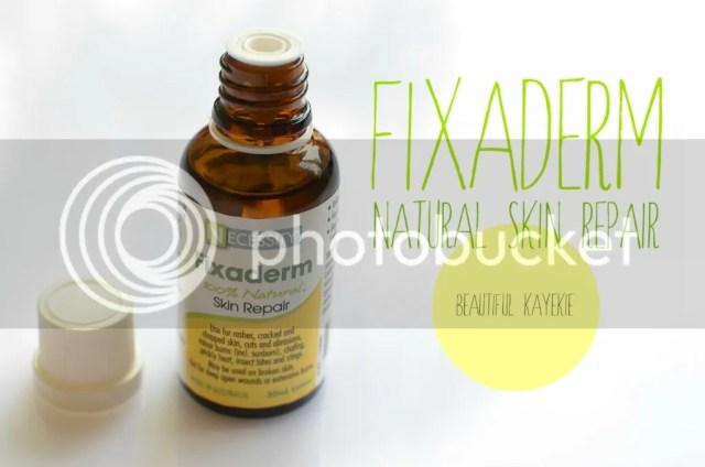 Fixaderm 100% Natural Skin Repair Review Beautiful Kayekie