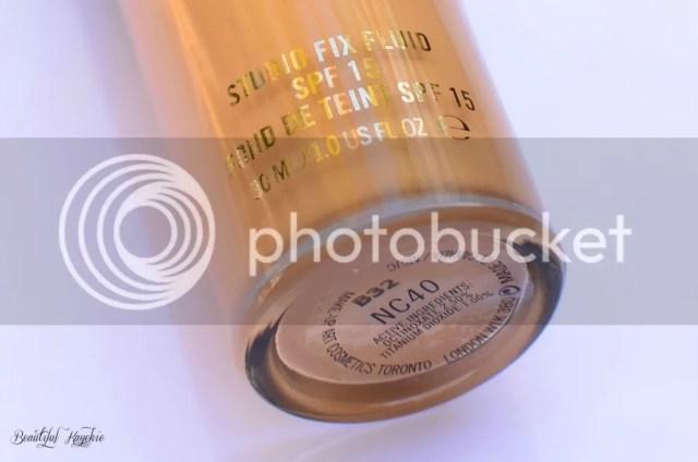 MAC Studio Fix Fluid NC40 FOTD Review & Swatches