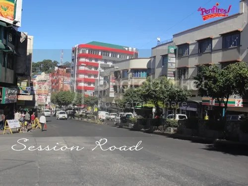 Baguio Tour - Session Road