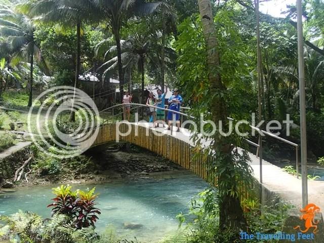 Bridges to Kawasan falls