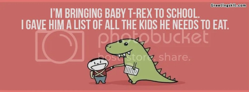 Baby T-Rex Timeline Cover Picture