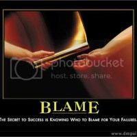 Let's Play The BLAME GAME