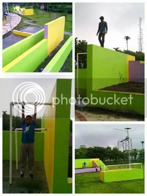 Gambar 1 : Parkour Park Keplaksari Jombang