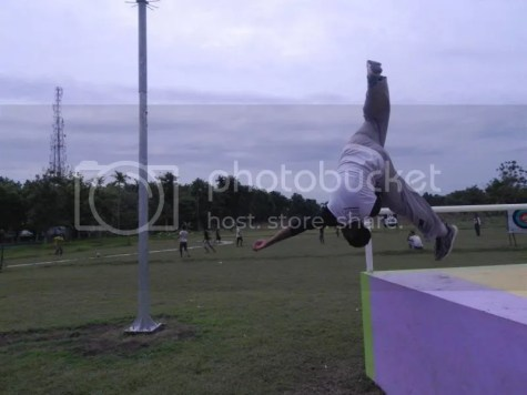 Gambar 5 : Jamming di Parkour Park, Ulin Parkour Jombang