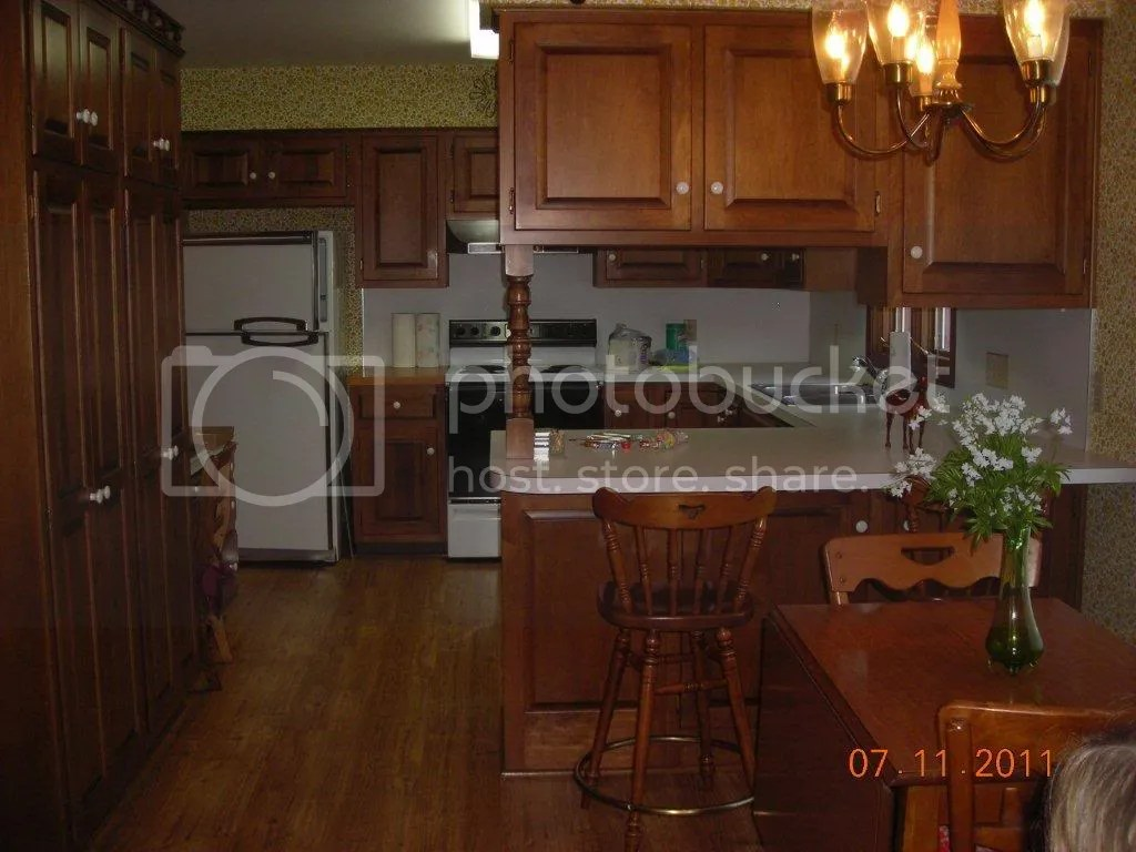 remove kitchen peninsula more floor space 2 replacing kitchen countertops Remove kitchen peninsula for more floor space counter cabinets color Home Interior Design and Decorating Page 2 City Data Forum
