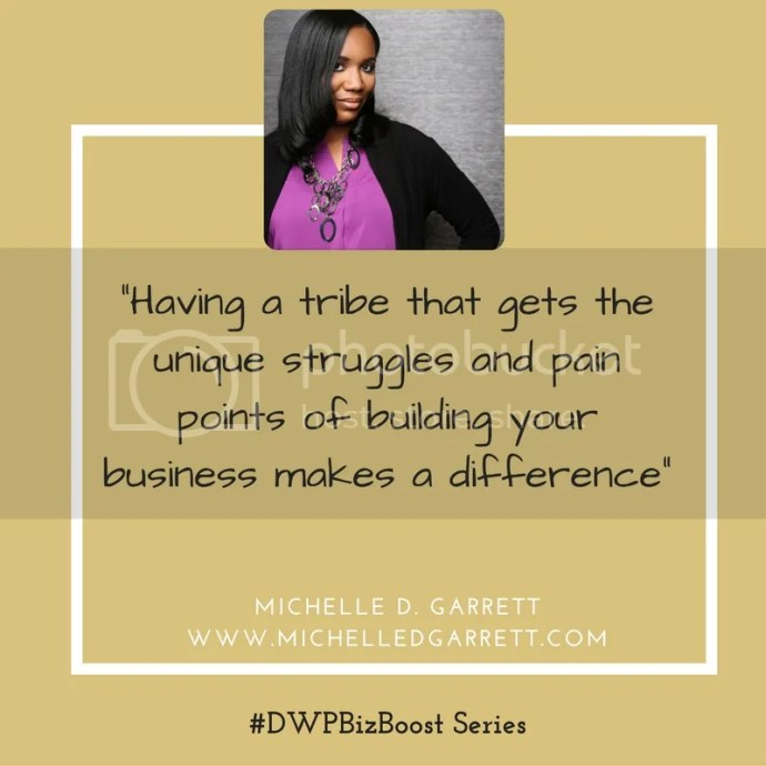 Female Enterpreneur Business Advice from Michelle Garrett