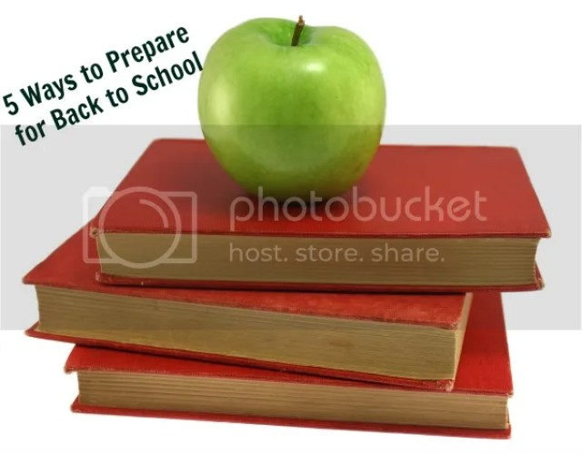 5 Ways to Prepare for Back To School