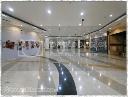 Inside of Ancol Beach City, Lifestyle Mall