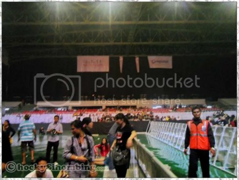 Mata Elang International Stadium - after the show