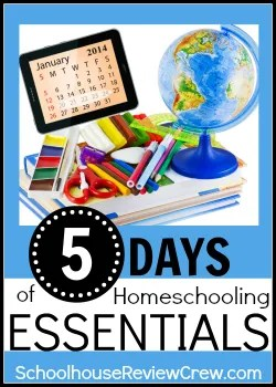 5 Days of Homeschooling Essentials