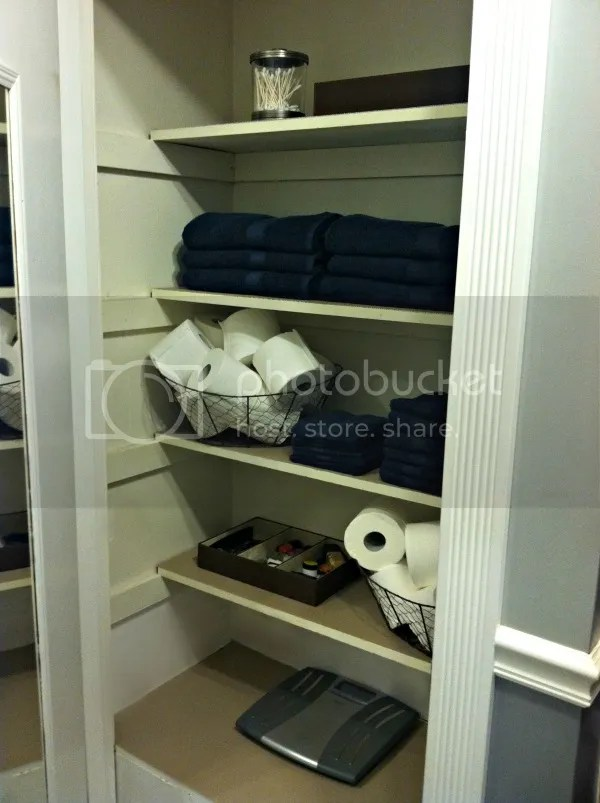 Bathroom Closet After