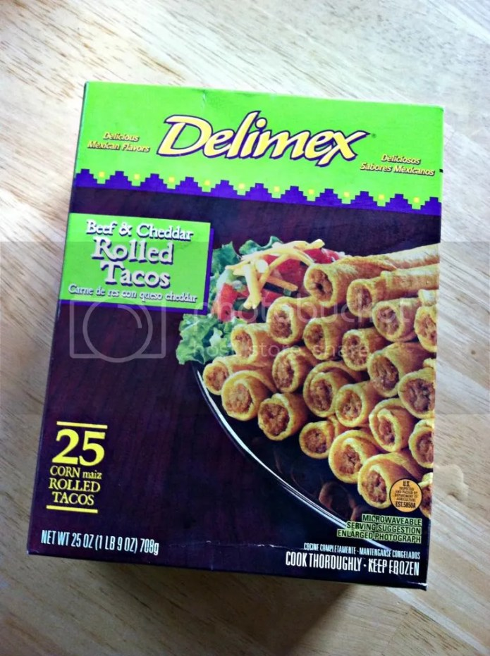 Delimex Rolled Tacos