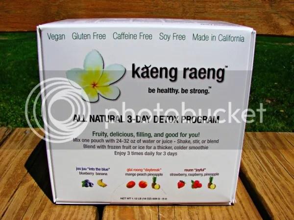 Kaeng Raeng 3 Day Cleanse