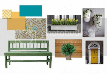 porch mood board