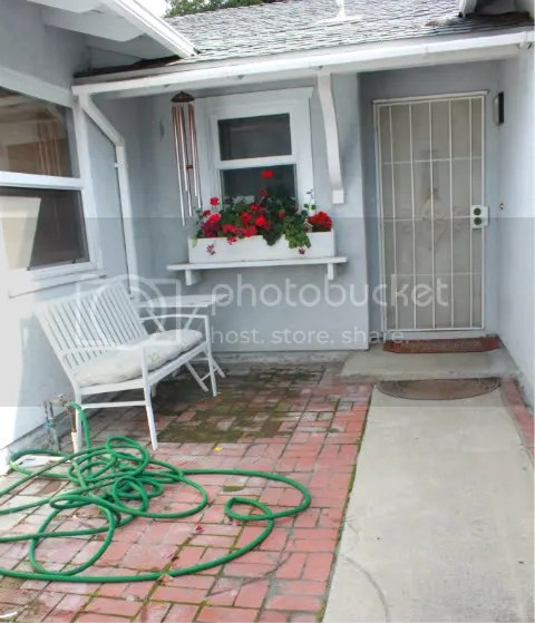 drab front porch