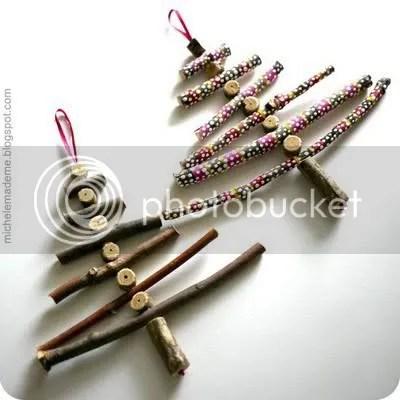 twig ornaments