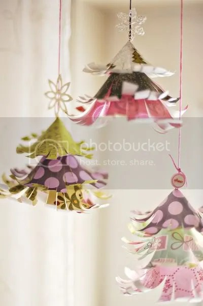 scrapbook ornaments