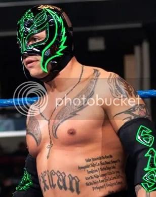 rey mysterio tattoos