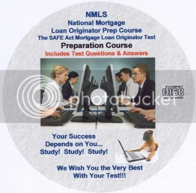 NMLS SAFE Act Loan Originator Prep Cram Course Exam-CD | eBay