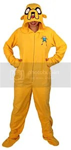 jake the dog footie pajamas