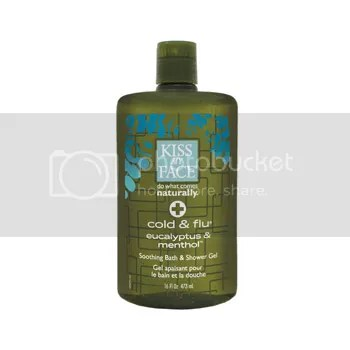 Kiss My Face Cold &amp; Flu Soothing Bath &amp; Shower Gel