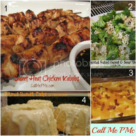 Sweet Heat Chicken Menu