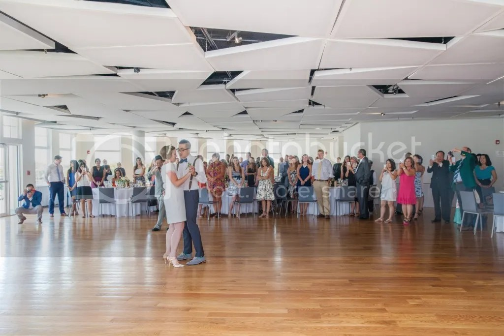 wedding reception at maritime parc, jersey city