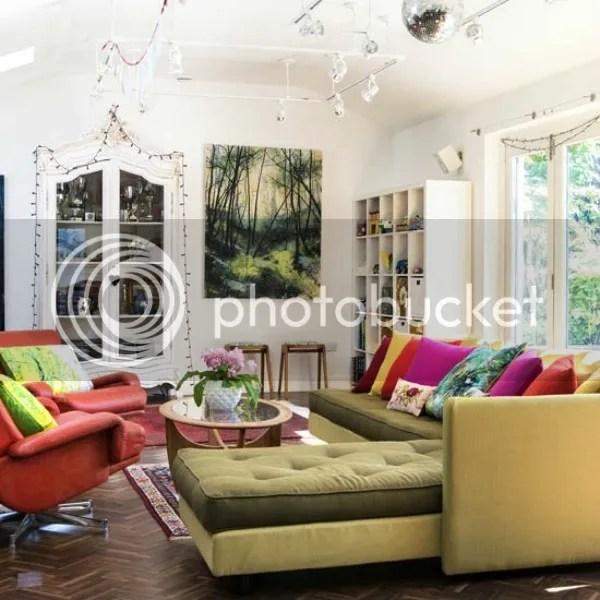 kent house tour | living area