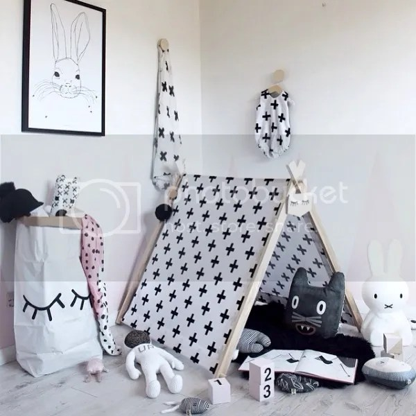 teepees & tents | peachy baby, big cartel