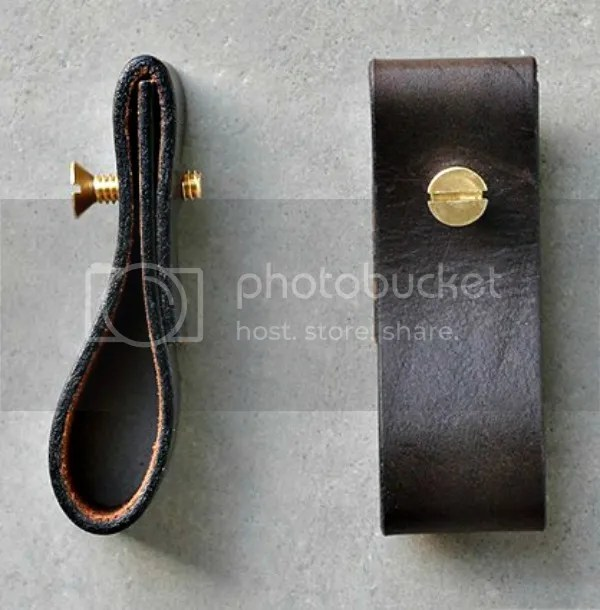 upcycled diy project | leather pull