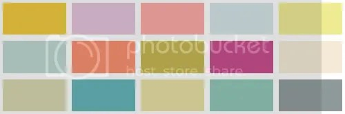 5 Color Palettes That Include Pink
