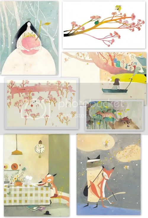 Korean Illustrator Chun Eunsil