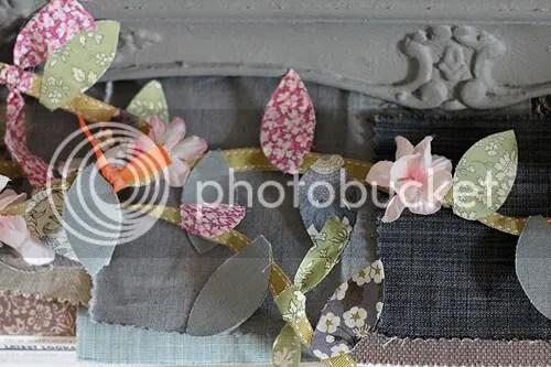 DIY: Spring Garlands Using Liberty Fabrics
