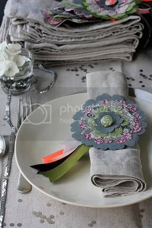 DIY: Liberty Flower Napkin Rings