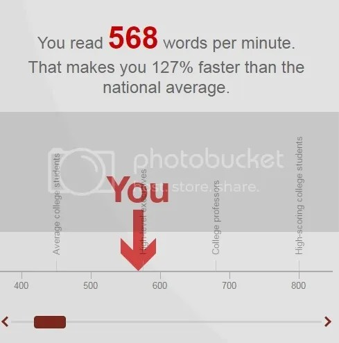 568 words per minute reading speed for @JLenniDorner
