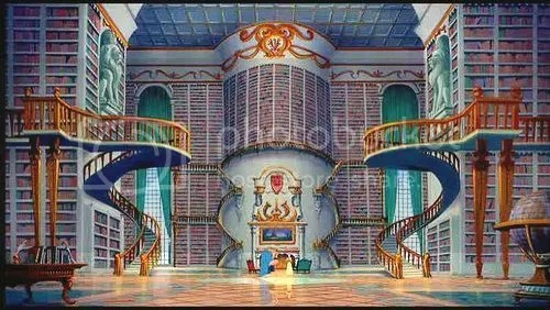 Library from Disney's Beauty and the Beast
